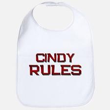 cindy rules Bib