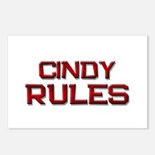 cindy rules Postcards (Package of 8)
