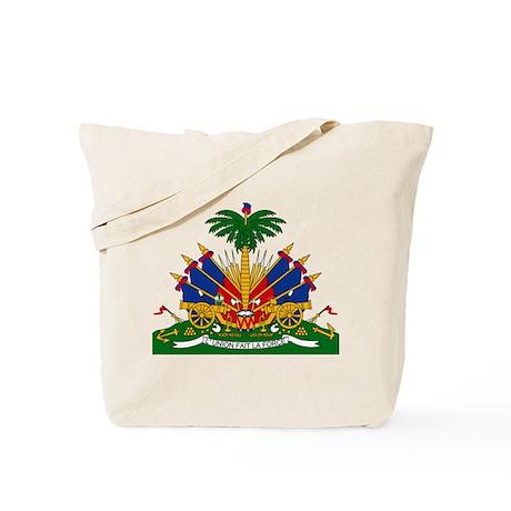 Haiti Coat of Arms Tote Bag