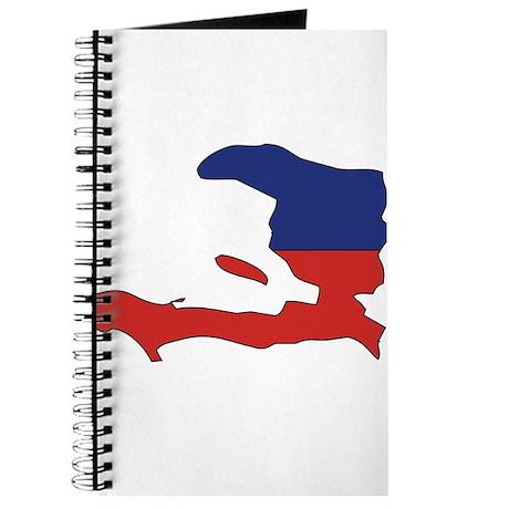 Haiti Flag Map Journal