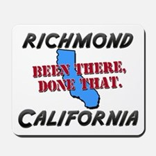 richmond california - been there, done that Mousep