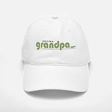 Soon to be a Grandpa Again Baseball Baseball Cap