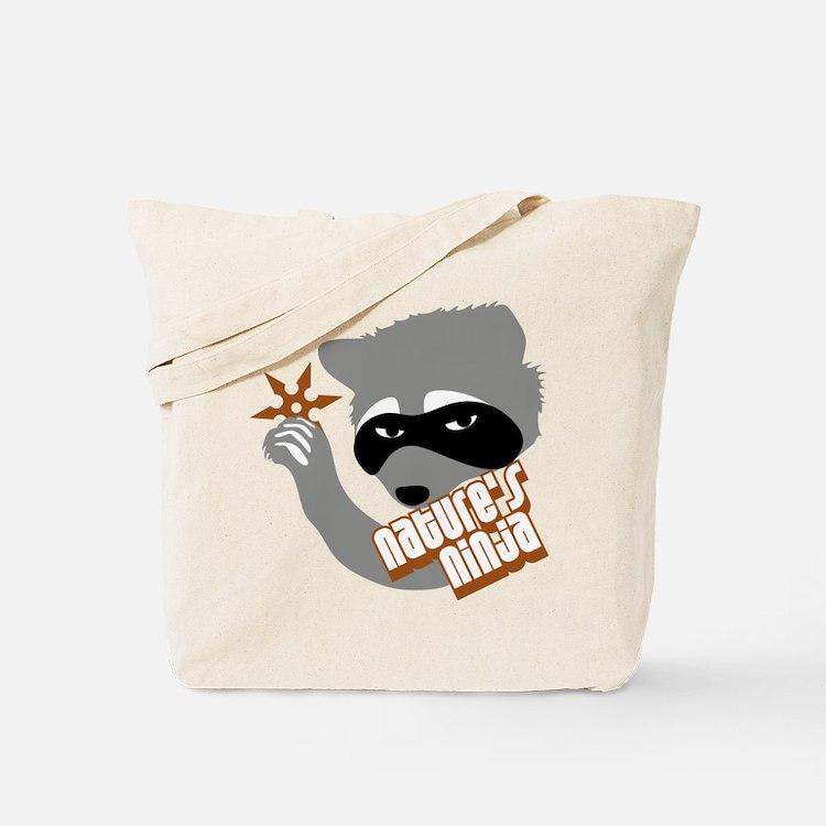 Nature's Ninja Tote Bag