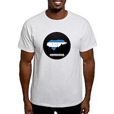 Flag Map of Honduras T-Shirt