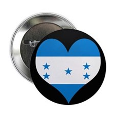 "I love Honduras Flag 2.25"" Button (10 pack)"