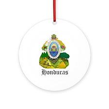 Honduran Coat of Arms Seal Ornament (Round)