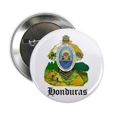 "Honduran Coat of Arms Seal 2.25"" Button (10 pack)"