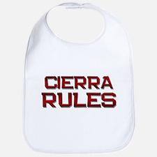 cierra rules Bib