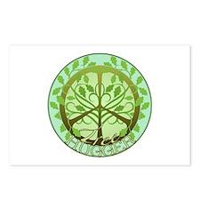 Peaceful Tree Hugger Postcards (Package of 8)