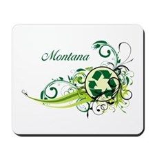 Montana Recycle T-Shirts and Gifts Mousepad