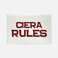 ciera rules Rectangle Magnet