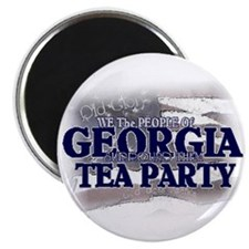 Georgia Tea Party Magnet