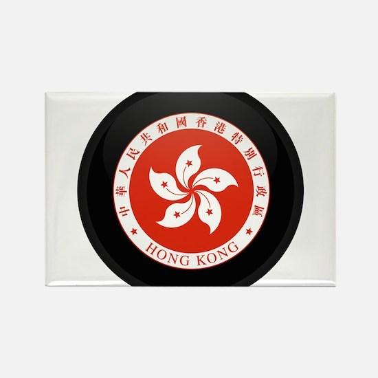 Coat of Arms of Hong Kong Rectangle Magnet