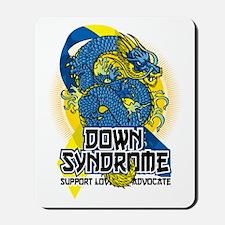 Down Syndrome Dragon Mousepad