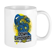Down Syndrome Dragon Mug