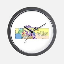 Cute Human resources assistants Wall Clock