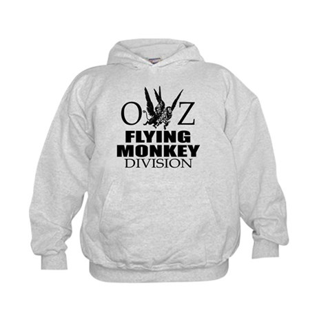 OZ Flying Monkey Division Kids Hoodie