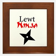 Lewt Ninja Framed Tile