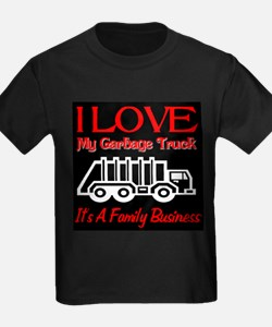 I Love My Garbage Truck T