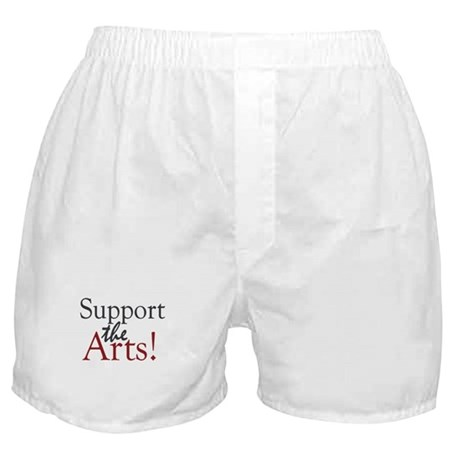 Support the Arts Boxer Shorts