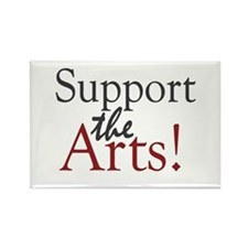 Support the Arts Rectangle Magnet