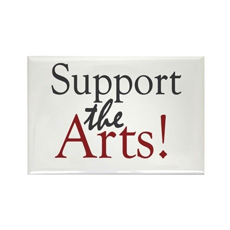 Support the Arts Rectangle Magnet (10 pack)