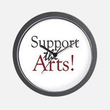 Support the Arts Wall Clock