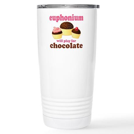 Funny Euphonium Stainless Steel Travel Mug