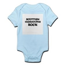 SCOTTISH DEERHOUNDS ROCK Infant Creeper