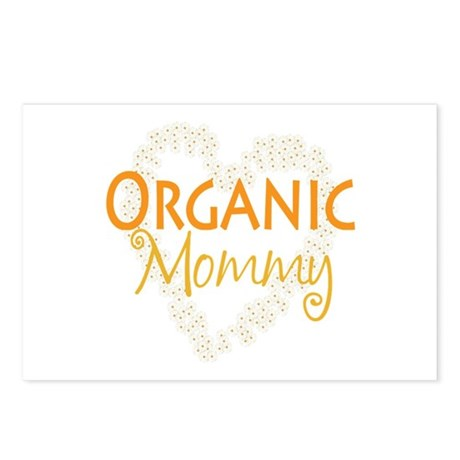 Organic Mommy Postcards (Package of 8)