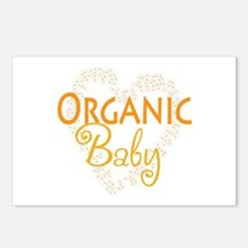 Organic Baby Postcards (Package of 8)