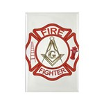 Mason Fire Fighter Rectangle Magnet