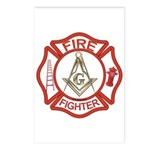 Mason Fire Fighter Postcards (Package of 8)