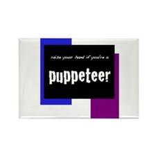 Puppetry Rectangle Magnet