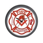 Brother Fire Fighter Wall Clock