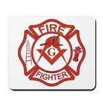 Brother Fire Fighter Mousepad