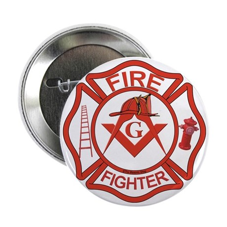 """Brother Fire Fighter 2.25"""" Button"""