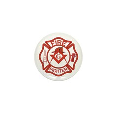 Brother Fire Fighter Mini Button (10 pack)