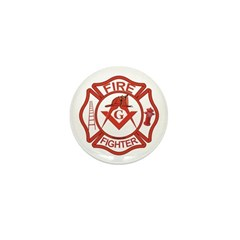 Brother Fire Fighter Mini Button (100 pack)