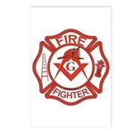 Brother Fire Fighter Postcards (Package of 8)