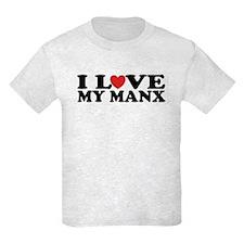 I Love My Manx T-Shirt