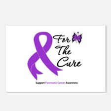 Pancreatic Cancer Cure Postcards (Package of 8)
