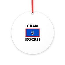 Guam Rocks Ornament (Round)
