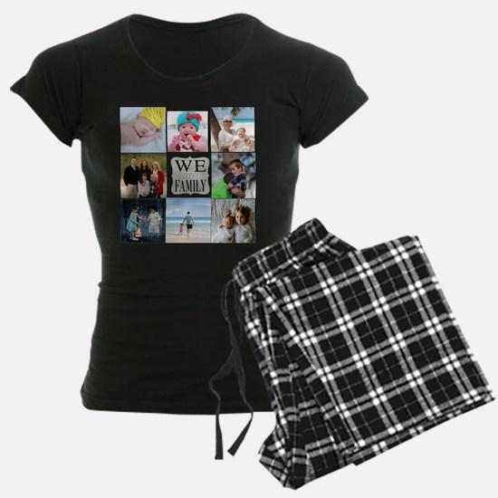 Custom Family Photo Collage Pajamas