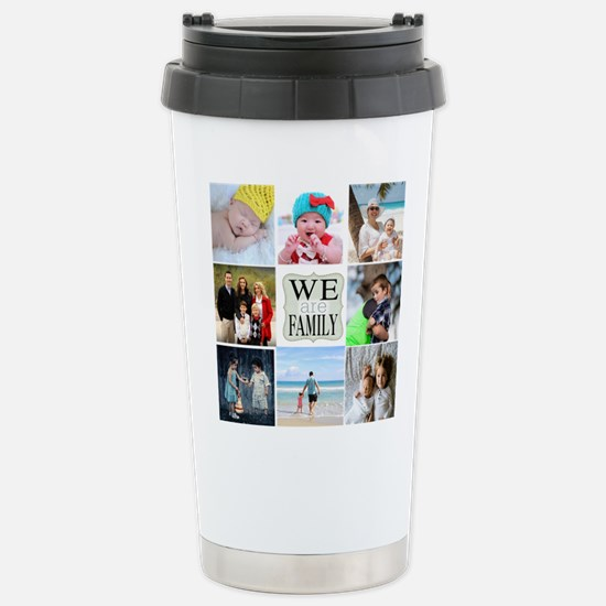 Custom Family Photo Collage Travel Mug
