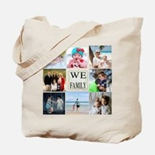 Custom Family Photo Collage Tote Bag
