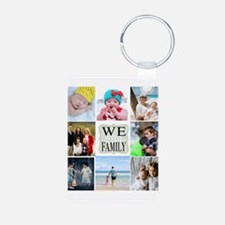 Custom Family Photo Collage Keychains