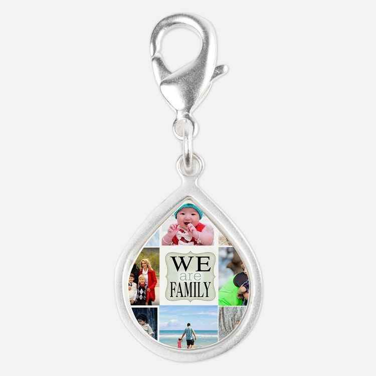 Custom Family Photo Collage Charms