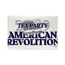2009 Tea Party Rectangle Magnet