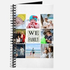 Custom Family Photo Collage Journal